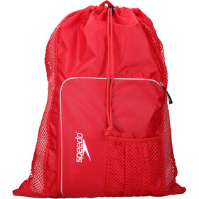 speedo Deluxe Ventilator Mesh Bag L red
